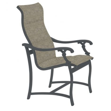 Ravello Padded Sling High Back Dining Chair