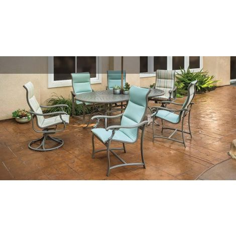 Ravello Padded Sling Dining Set