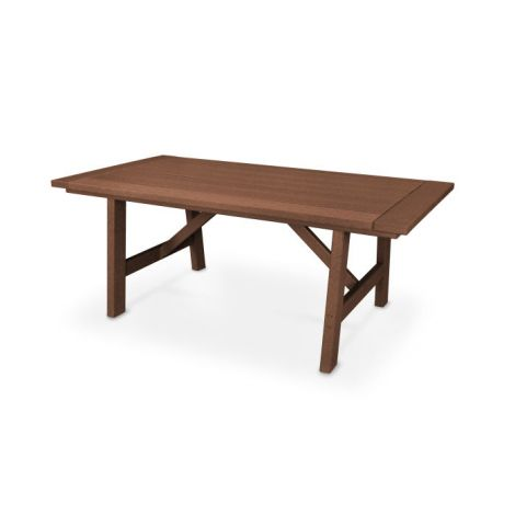 "75"" x 39"" Rustic Farmhouse Dining Table"