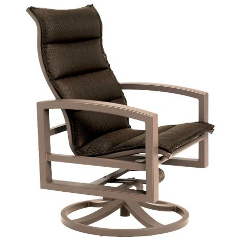 Lakeside Padded Swivel Action Lounger