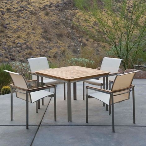 "Tivoli 42"" Square Dining Table"