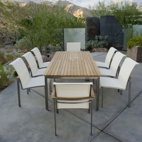 Tivoli Sling 9-Piece Dining Set