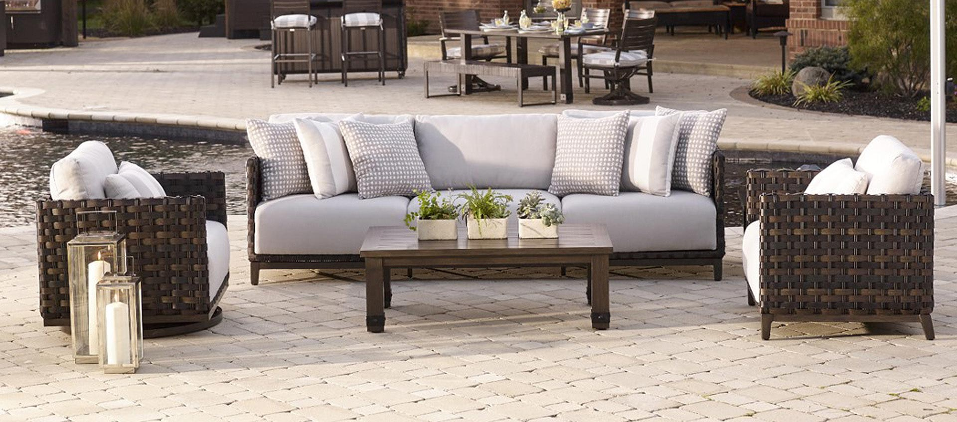 Excellent All American Outdoor Living Patio Furniture Gmtry Best Dining Table And Chair Ideas Images Gmtryco